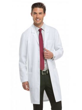 "Dickies Men's Long Medical Gown, ""EDS"" Collection (83403A)"