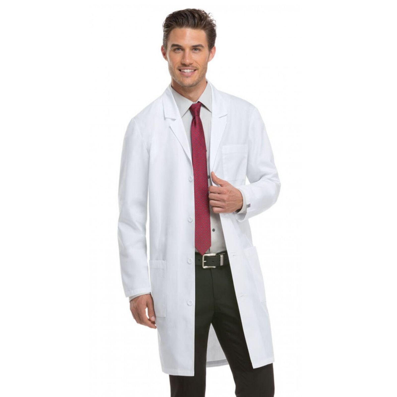 """Blouse médicale longue Homme Dickies, Collection """"EDS"""" (83403A) vue modèle homme"""