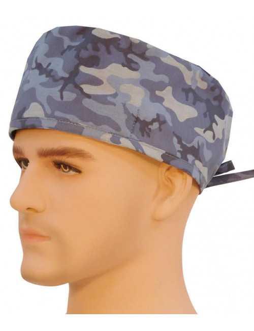 """Calot médical """"Camouflages Bleus"""" (210-8702)"""