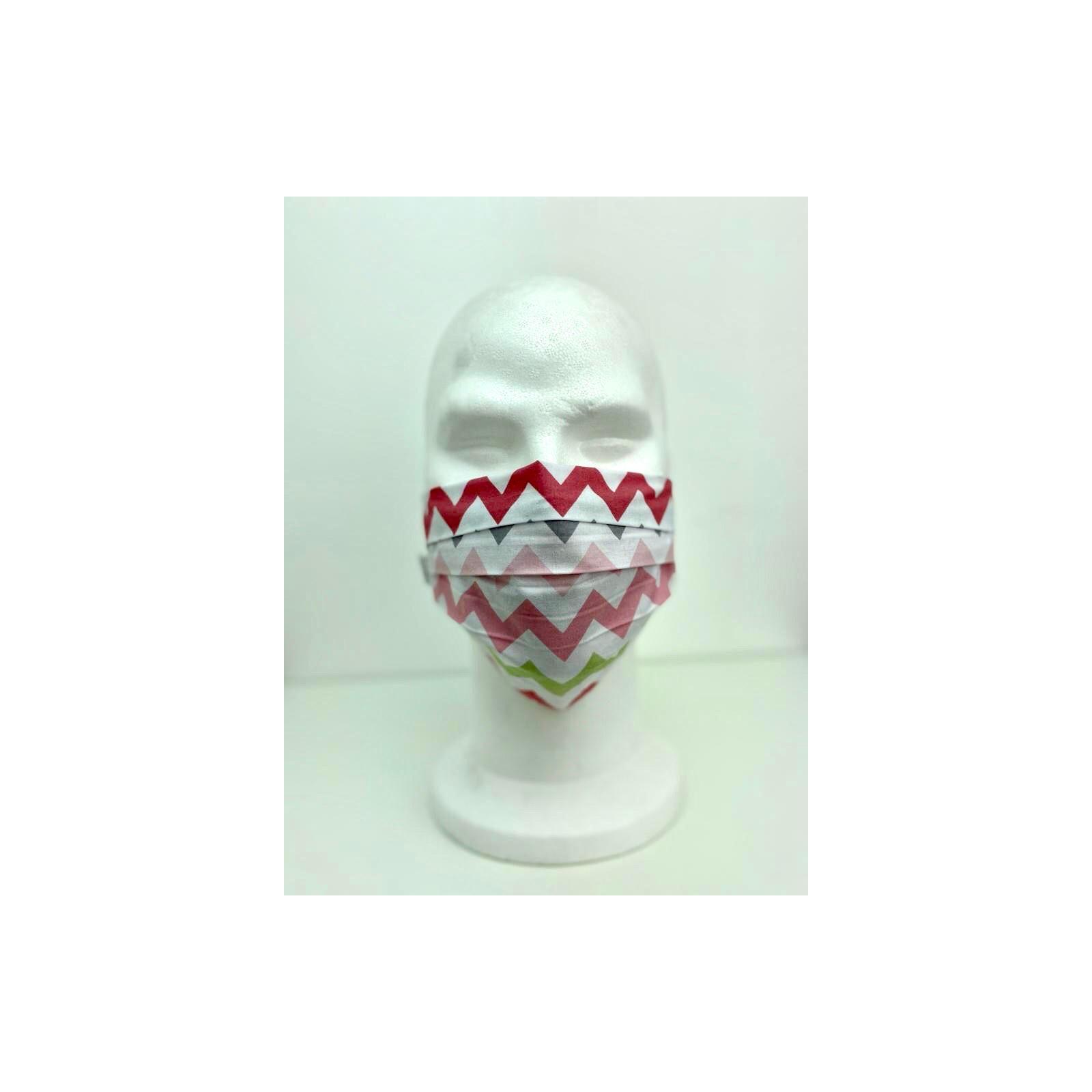 Lot 10 - Masque de protection Unisexe motifs vagues vue modèle 1