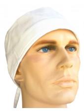 Calot médical blanc CH14-BLANC vue produit