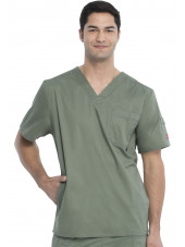 "Blouse médicale Homme Dickies, Collection ""Genflex"" (81722) olive face"