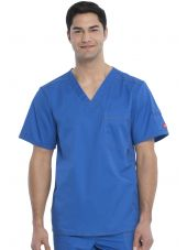 "Blouse médicale Homme Dickies, Collection ""Genflex"" (81722) bleu royal face 2"