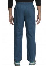 """Pantalon Médical élastique et cordon Homme, Dickies, Collection """"GenFlex"""" (81003) vert caraïbe dos"""
