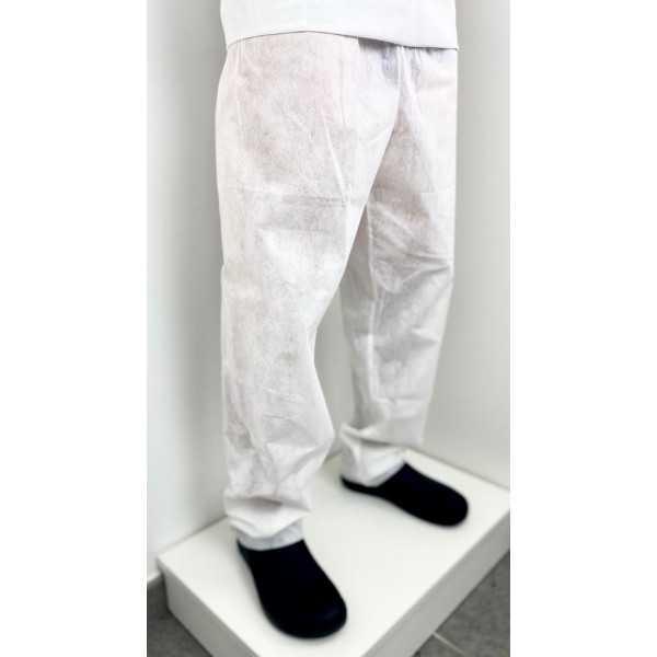 Pantalon médical Polypropylène, Unisexe - pack de 5 (CH15) vue modele