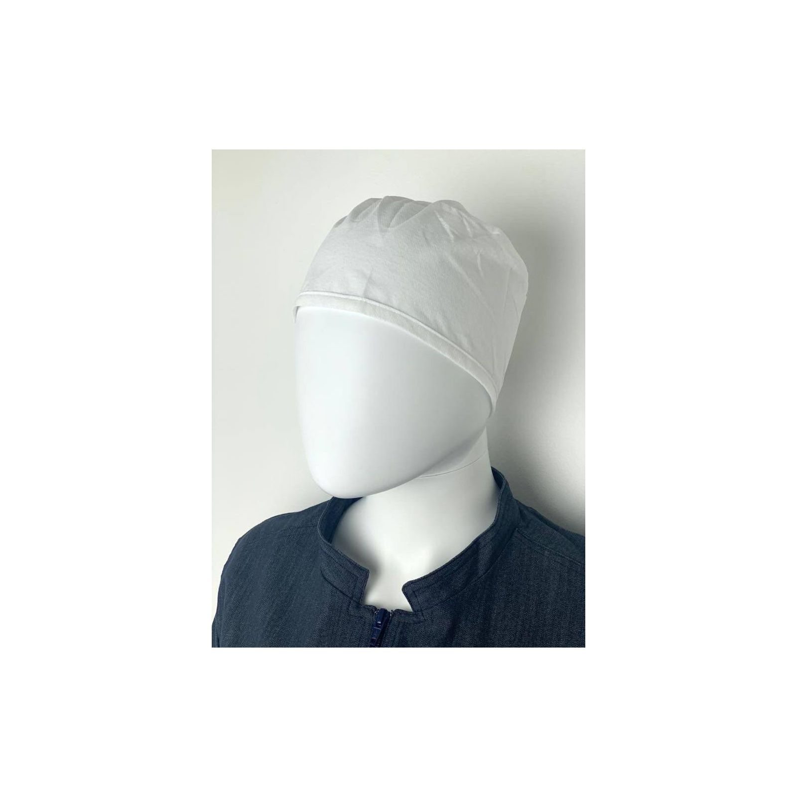 Pack de 5 Calots médicaux Lavables Polypropylène Blanc (210-9995) vue produit