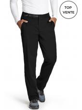 "Pantalon médical homme, collection ""Grey's Anatomy Stretch"" (GRSP507-) noir top vente"