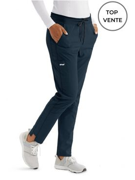 "Pantalon médical femme, collection ""Grey's Anatomy Stretch"" (GVSP509-)"