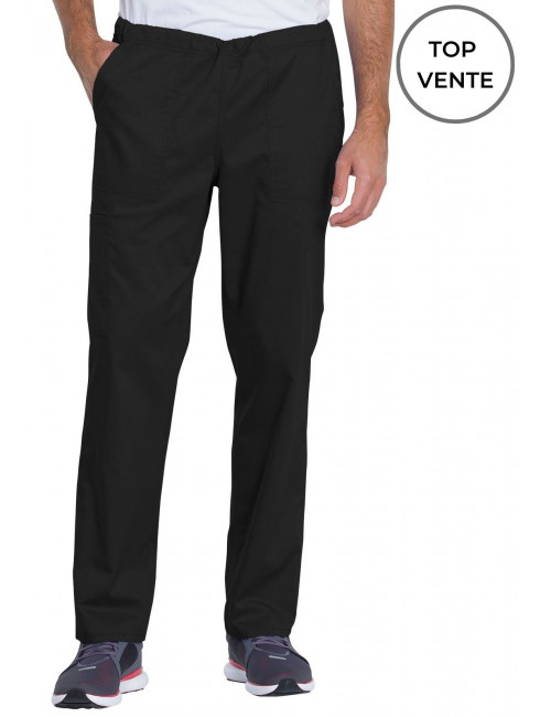"Pantalon médical, unisexe, Dickies, Collection ""Genuine"" (GD120) noir top vente"