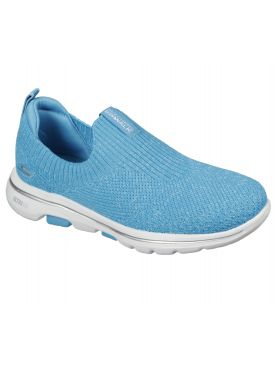 Skechers Women's Sneakers, Go Walk 5 Trendy, Turquoise (15952)