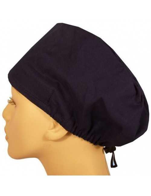 "Calot médical Cheveux Mi-Longs ""Bleu marine"" (218-1034)"