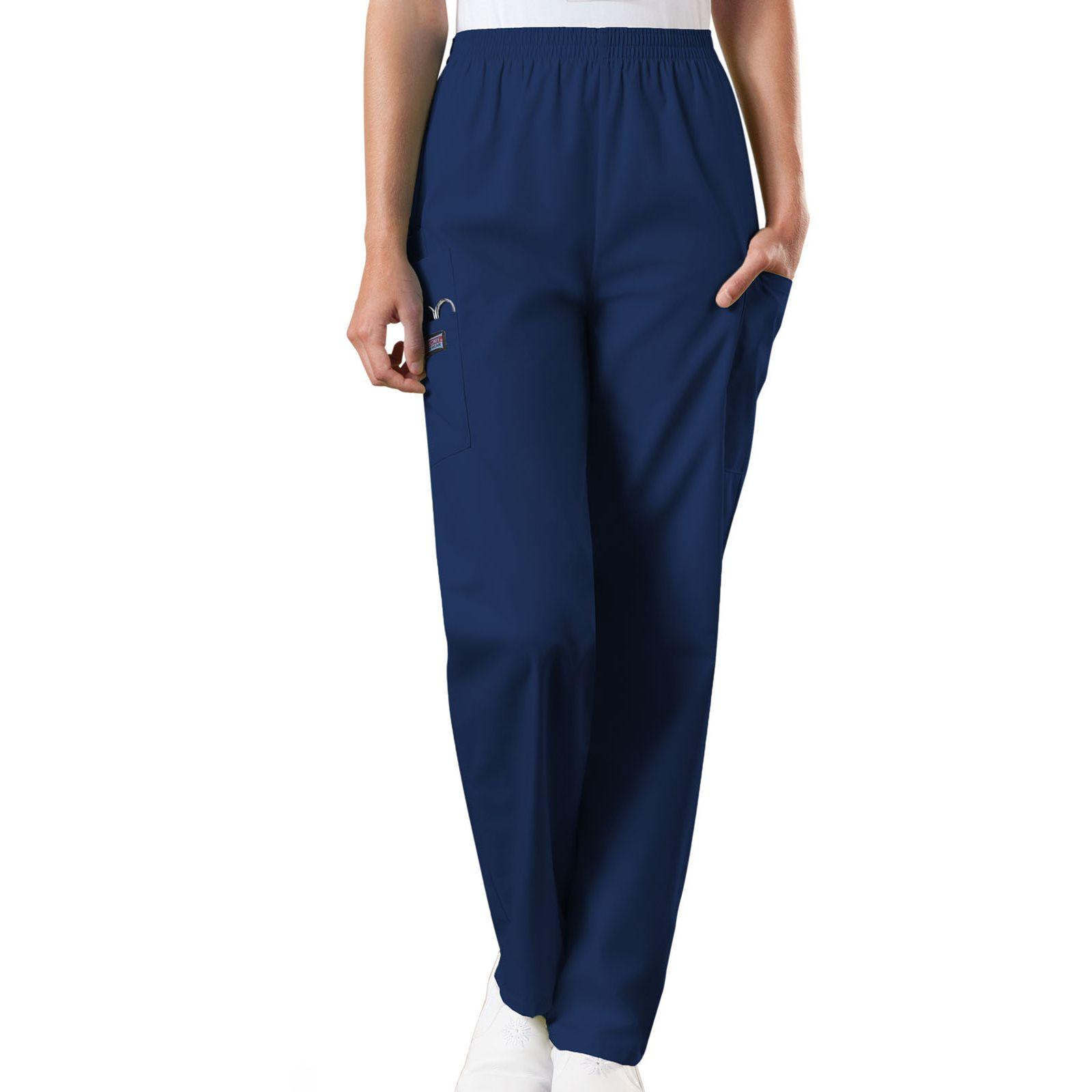 Pantalon médical élastique Unisexe, Cherokee Workwear Originals (4200) bleu marine