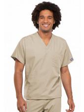 Blouse médicale Homme, Cherokee Workwear Originals (4777) beige face