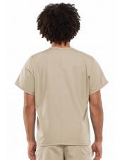 Blouse médicale Homme, Cherokee Workwear Originals (4777) beige dos