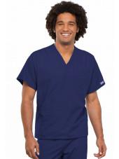 Blouse médicale unisexe, Cherokee Workwear Originals (4777) bleu marine face