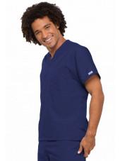 Blouse médicale Homme, Cherokee Workwear Originals (4777) bleu marine droit