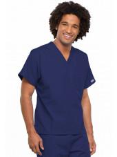 Blouse médicale Homme, Cherokee Workwear Originals (4777) bleu marine gauche