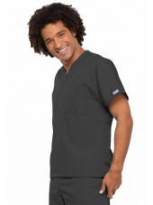 Blouse médicale Unisexe, Cherokee Workwear Originals (4777) gris droit