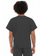 Blouse médicale Unisexe, Cherokee Workwear Originals (4777) gris dos