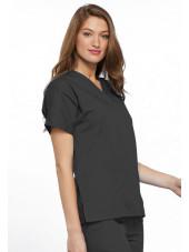 Blouse médicale Femme, 2 poches, Cherokee Workwear Originals (4700) gris droit