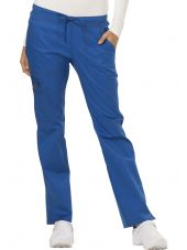 "Pantalon Médical Femme Cordon, Dickies, Collection ""GenFlex"" (DK100) bleu royal face"