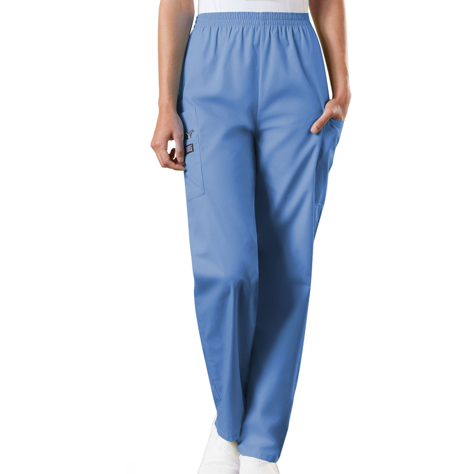 Pantalon médical élastique Unisexe, Cherokee Workwear Originals (4200) bleu ciel