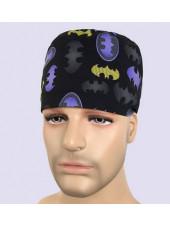 "Calot médical ""Bat Man"" (209-0002) vue modele"