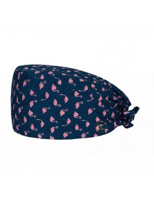 "Medical cap ""Pink Flamingos"" (209-22048)"