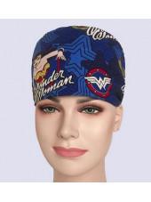 """Calot médical """"Wonder Woman"""" (209-0003) vue modele"""