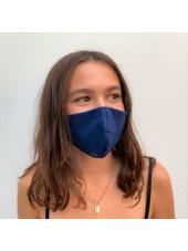 Lot 3 - Masque enfant de protection Antimicrobien (CR500Y) ado bleu droite