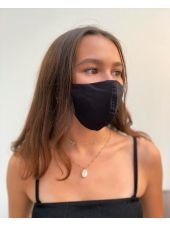 Lot 3 - Masque enfant de protection Antimicrobien (CR500Y) ado noir coté