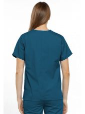 Blouse médicale Femme, 2 poches, Cherokee Workwear Originals (4700) vert caraibe dos
