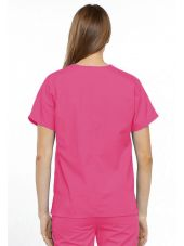 Blouse médicale Femme, 2 poches, Cherokee Workwear Originals (4700) rose dos