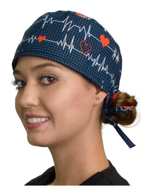 "Medical cap ""Heartbeat"" (210-8107)"