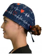 """Calot médical """"Battements de Coeur"""" (210-8487-BL)"""