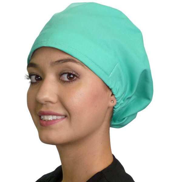 """Calot médical Cheveux Mi-Longs """"Vert clair"""" (218-1141)"""