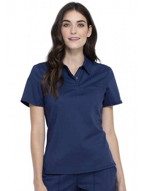 """Blouse médicale antimicrobienne Femme Col rond, Cherokee, Collection """"Infinity"""" (2624A)"""