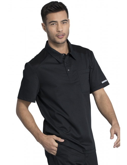 "Blouse médicale Homme Col polo, Cherokee, Collection ""Revolution"" (WW615)"