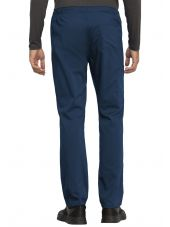 """Pantalon médical Unisexe élastique, Cherokee, Collection """"Revolution"""" (WW020) bleu marine dos"""