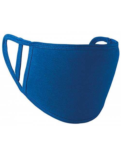 Masque Lavable Antimicrobien Bleu royal (PR799-ROY) vue produit