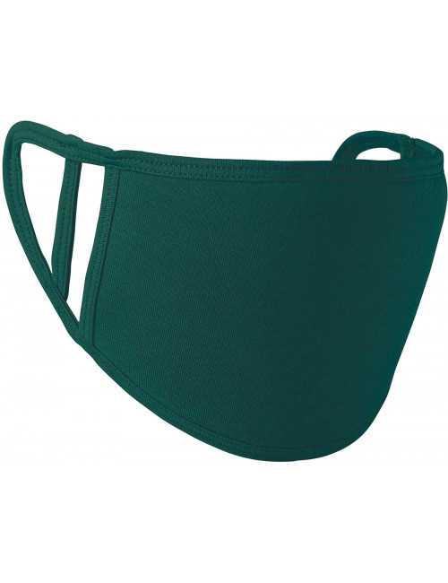 Pack de 5 - Masque Lavable Antimicrobien Adulte et Enfant Vert Catégorie 1 (PR799-HUN)