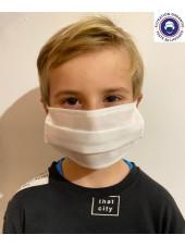 Masque Lavable Enfant Catégorie 1 Catégorie 1 (MASQUE-ENF) face