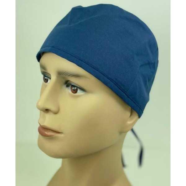 Calot médical Bleu marine (210-NVY) vue face