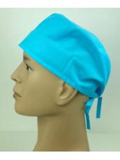 Calot médical Turquoise (210-TRQ) vue coté