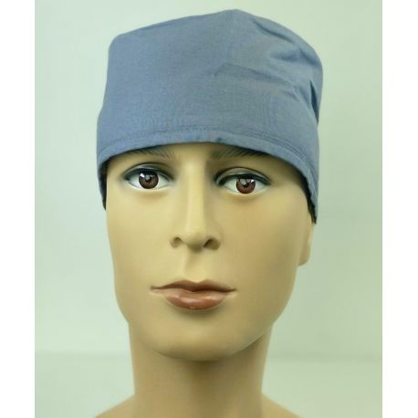 Calot médical Gris moyen (210-PWT) vue face