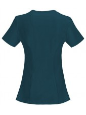 """Cache-cœur femme antimicrobien, Cherokee collection """"Infinity"""" (2625A), couleur vert caraibe, vue dos"""