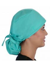 """Calot médical Cheveux Longs """"Vert clair"""" (815-1141) vue droite"""