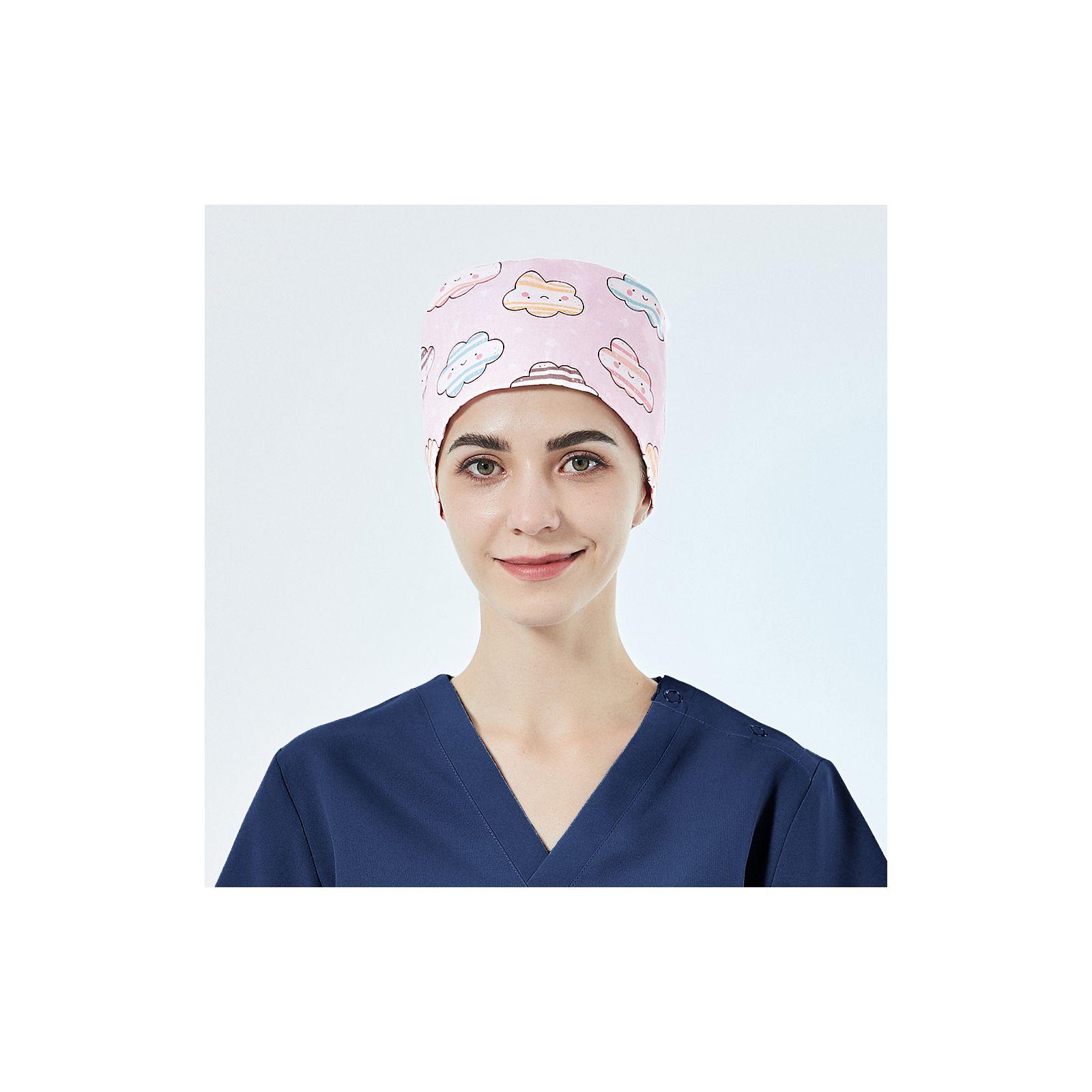 """Calot médical """"Fleurs sur fond violet"""" (209-12171)"""