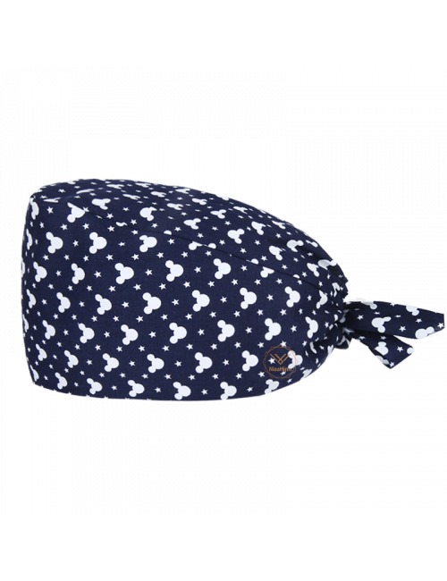 """Medical cap """"Mickey on blue background"""" (209-22096)"""