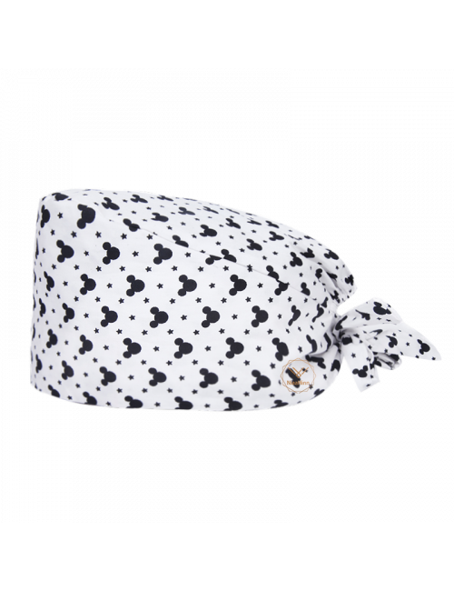 "Medical cap ""Mickey on white background"" (209-22097)"